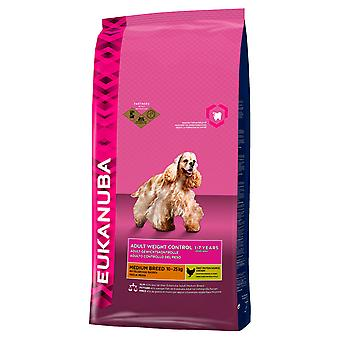 Eukanuba Dog Adult Weight Control Medium Breed 3kg
