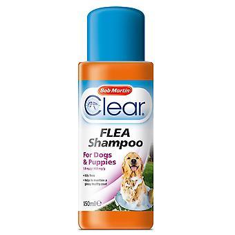 Bob Martin Clear Flea Shampoo 150ml (Pack of 6)