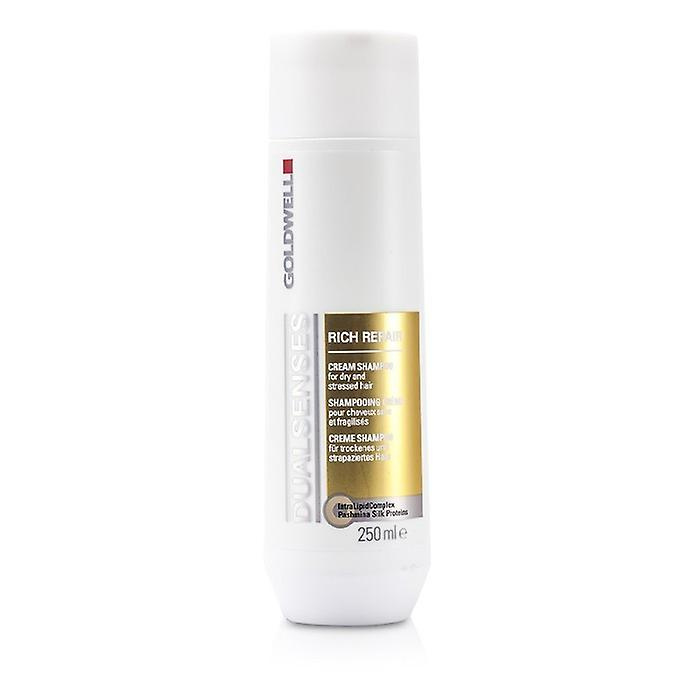 Goldwell Dual Senses Rich Repair Shampoo (For Dry, Damaged or Stressed Hair) 250ml/8.4oz