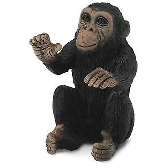 Collecta Puppy Chimp - Embracing -S-