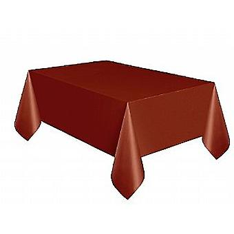 Plastic Tablecover - Brown (137cm x 274cm)