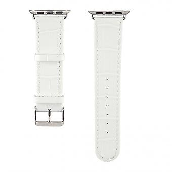 HAMA strap Apple Watch White Croco, 38 mm