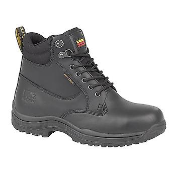 Dr Martens FS205 Unisex Lace Up Safety Boots Textile Leather Rubber Footwear