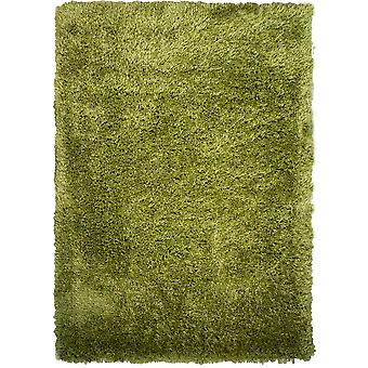 Moderne Trendy grønne Shaggy tæppe - Barrington