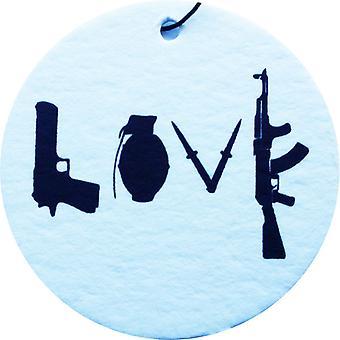 Love Weapon Car Air Freshener
