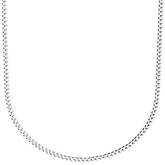 Sterling 925 Silver CURB chain - 2 mm