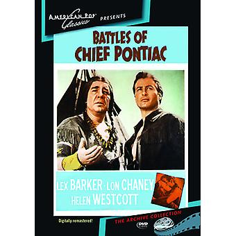 Battles of Chief Pontiac [DVD] USA import