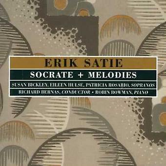 Erik Satie - Satie: Socrate; Melodier [CD] USA importerer
