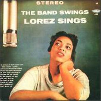 Lorez Alexandria - Band Swings Lorez Sings [CD] USA import