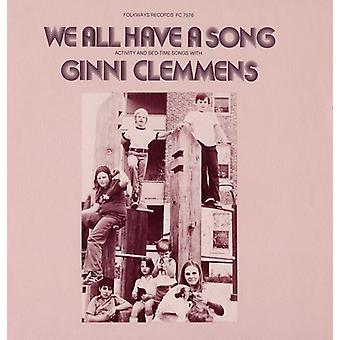 Ginni Clemmens - alla har vi en låt [CD] USA import