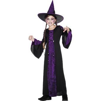 Witch costume children witch child costume Halloween