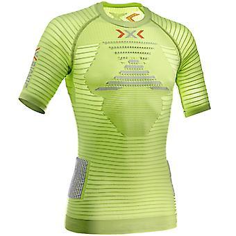 X-BIONIC Herren Laufshirt Effektor Running Powershirt Lime - O020596-E026