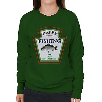 Happy Fishing Over 2500 Varieties Women's Sweatshirt