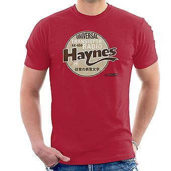 Haynes Marke Universal AK 650 Transistorradio Herren T-Shirt