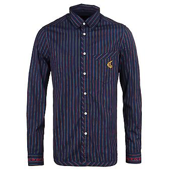 Vivienne Westwood Classic Royal Blue & Red Stripe Shirt