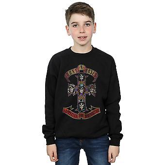 Guns N Roses Boys Appetite For Destruction Distressed Sweatshirt