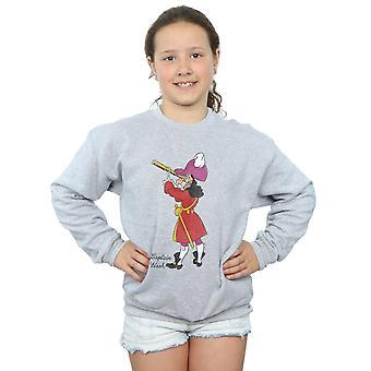 Disney Girls Peter Pan Classic Captain Hook Sweatshirt