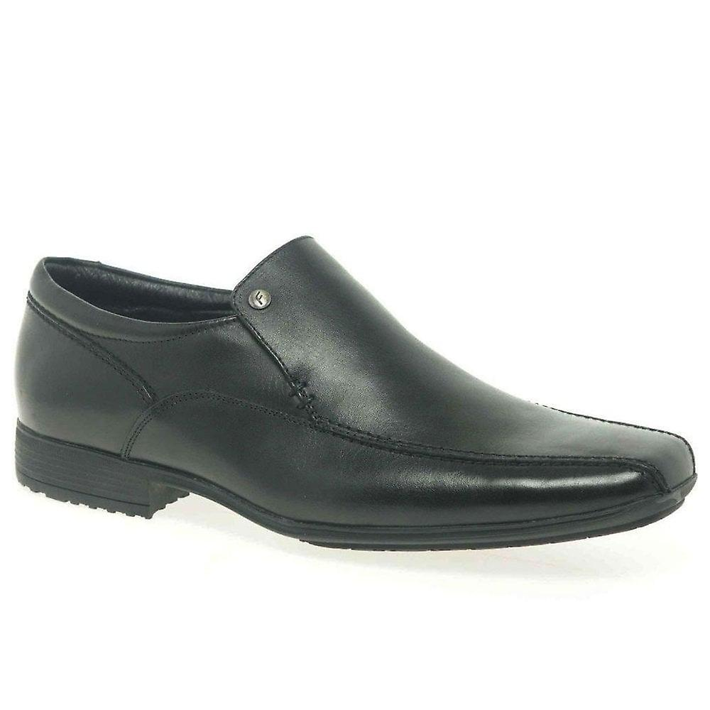 Front Belmont On Mens Smart Leather Slip On Belmont Shoes a37ce2