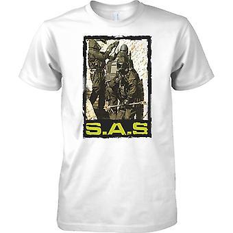 SAS Door Breach - Anti terrorist Elite - Mens T Shirt