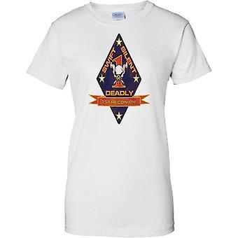1st Battalion Recon - USMC Elite Einheit - militärische Insignia - Damen T Shirt