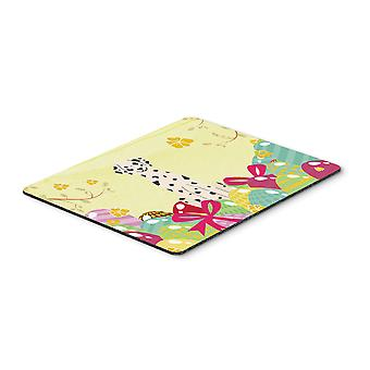 Carolines Treasures  BB6097MP Easter Eggs Dalmatian Mouse Pad, Hot Pad or Trivet