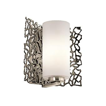 Silver Coral Wall Light - Elstead Lighting Kl/silcoral1