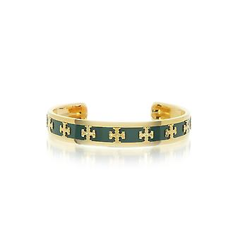 Tory Burch women's 37676312 green metal bracelet