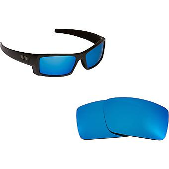 Best SEEK Polarized Replacement Lenses for Oakley GASCAN S Small Blue Mirror