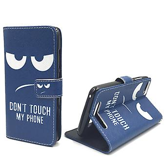 Mobile phone case pouch for Handy Wiko Jerry Dont Touch my phone