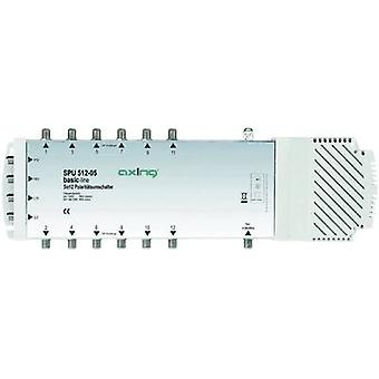 SAT multiswitch Axing SPU 512-05 Inputs (multiswitches): 5 (4 SAT/1 terrestria