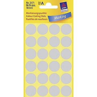 Avery-Zweckform 3171 Labels (hand writable) Ø 18 mm Paper