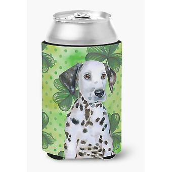 Carolines Treasures  BB9882CC Dalmatian Puppy St Patrick's Can or Bottle Hugger