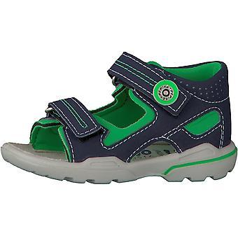 Ricosta Pepino chłopców Manti sandały niebieski zielony