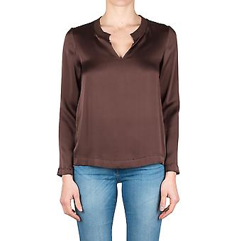 Jucca women's J2712061 Brown silk blouse