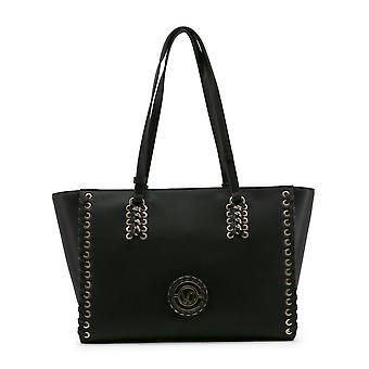 Zwarte Versace Jeans vrouwen Shopping tassen