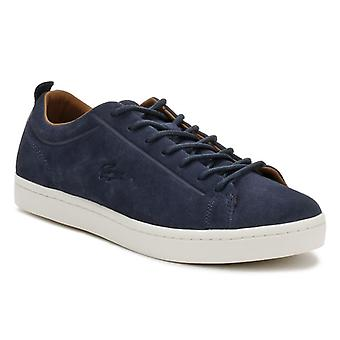 Lacoste Mens Navy Straightset 317 3 Trainers