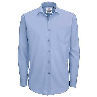 B&C Collection Smart Long Sleeve Shirt