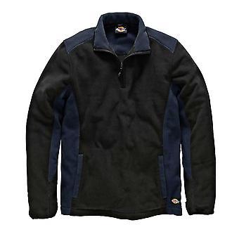 DICKIES Mens Workwear deux ton Micro polaire marine noir JW7011N