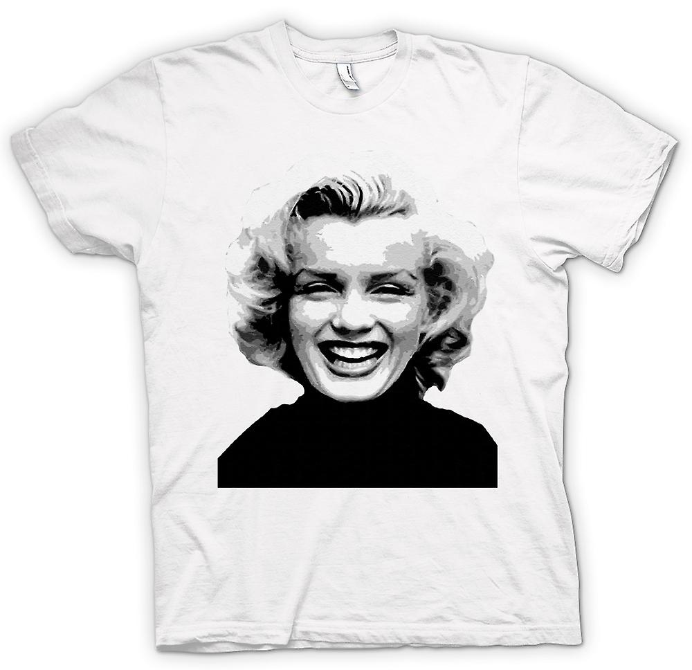 Womens T-shirt - Marilyn Monroe - BW - Icon