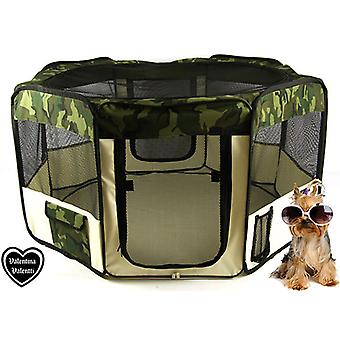 VALENTINA VALENTTI FABRIC FOLDING PET PLAY PEN