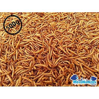 500g Getrocknete Mehlwürmer für Geflügel