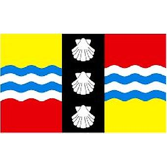 Bedfordshire Flag 5ft x 3ft With Eyelets For Hanging