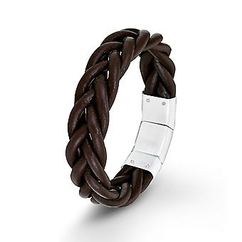 s.Oliver jewel men's Brown Leather Bracelet SO1389/1 - 9025497
