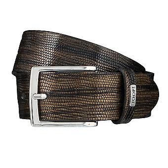 JOOP! Ceintures pour hommes ceintures en cuir or ceinture 3909