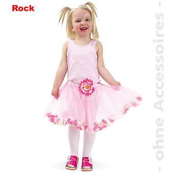Цветы тюль юбки детские фея балетный костюм костюм ребенка Туту