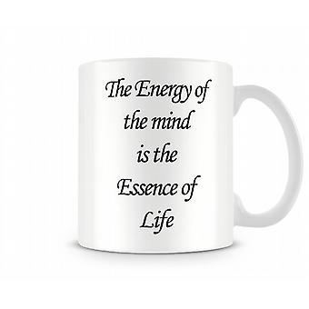 Essence Of Life Printed Mug