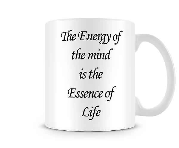 Essence Of Life Printed Mug