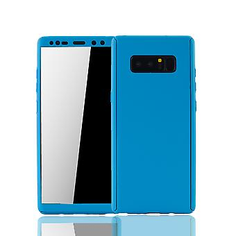 Samsung Galaxy touch 8 Mobile Shell Schutzcase full cover 360 display protection foil blue