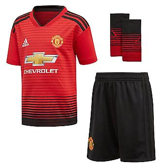 Adidas Manchester United FC 2018/19 Children's Home Kit
