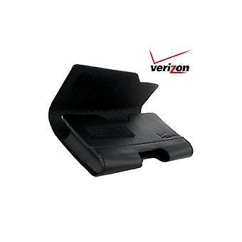 Verizon Horizontal lleva caja/bolsa para Motorola a855, Droid 2 - negro